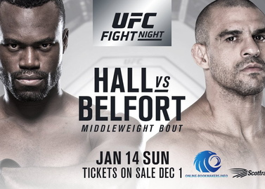 UFC Fight Night 124: Юрайя Hall vs vitor belfort